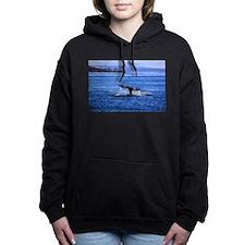Gray Whale Point Loma Women's Hooded Sweatshirt