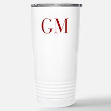 GM-bod red2 Travel Mug