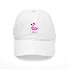 Birthday Girl Flamingo Baseball Baseball Cap