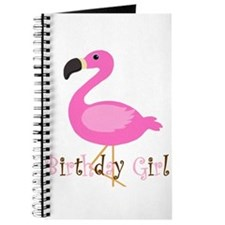Birthday Girl Flamingo Journal