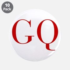"""GQ-bod red2 3.5"""" Button (10 pack)"""