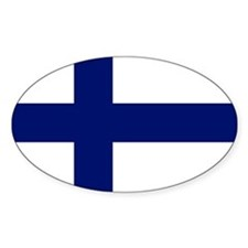 Finland flag Decal