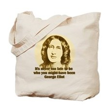 George Eliot Quote Tote Bag