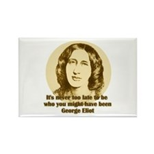 George Eliot Quote Rectangle Magnet