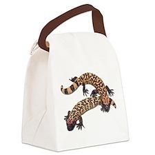 Gila monster Canvas Lunch Bag