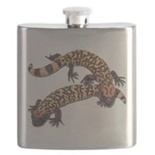 Gila monster Flask