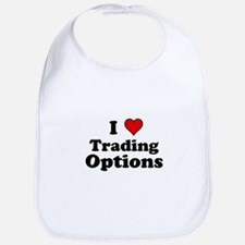 I Heart Trading Options Bib