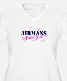 Airman's Baby Girl Pink with T-Shirt
