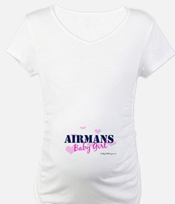Airman's Baby Girl Pink with Shirt