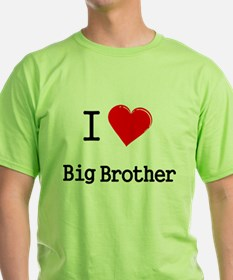 I heart big brother T-Shirt