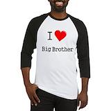 Big brother tv show Baseball Tees & Raglans