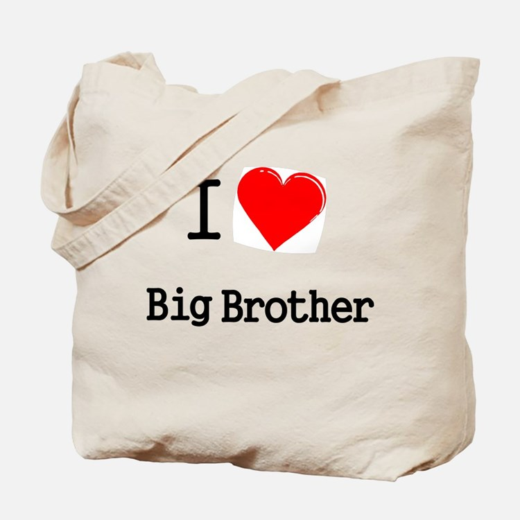 I heart big brother Tote Bag