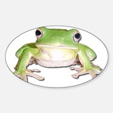green tree frog Decal