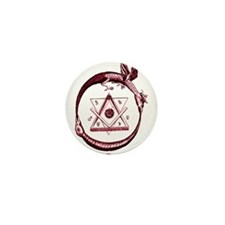 Alchemical Ouroboros Mini Button (10 pack)