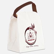 Alchemical Ouroboros Canvas Lunch Bag