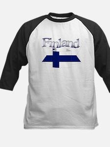 Finnish flag ribbon Tee
