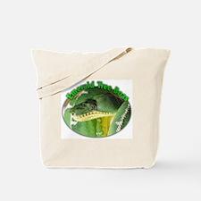 emerald tree boa Tote Bag