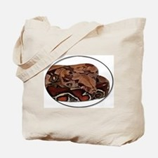 red tail boa Tote Bag
