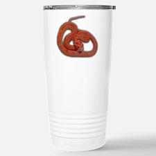 albino corn snake Travel Mug
