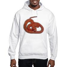 albino corn snake Hoodie