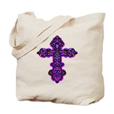 Ornate Cross Tote Bag