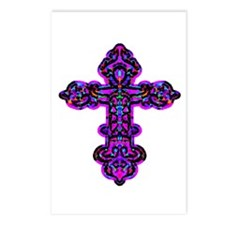 Ornate Cross Postcards (Package of 8)
