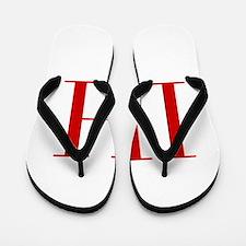 IH-bod red2 Flip Flops