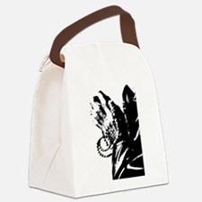 Praying hands Canvas Lunch Bag