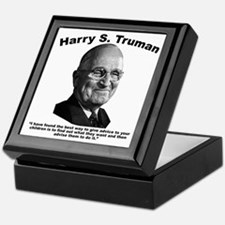 Truman: Advice Keepsake Box