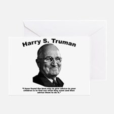Truman: Advice Greeting Card