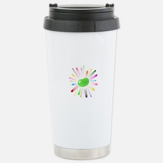 pink jellybean blowout Stainless Steel Travel Mug