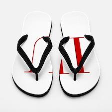 IU-bod red2 Flip Flops