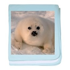 Baby Seal baby blanket