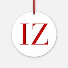 IZ-bod red2 Ornament (Round)
