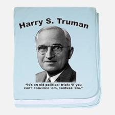 Truman: Trick baby blanket