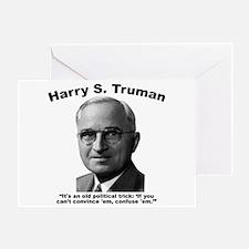Truman: Trick Greeting Card