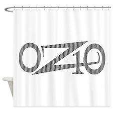 OZ10 Moto Race Decal Shower Curtain