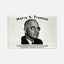 Truman: Security Rectangle Magnet