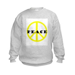 Peace 2 Yellow Sweatshirt