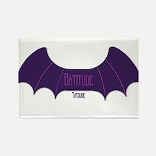 Batitude Rectangle Magnet
