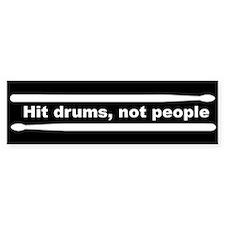 Cute Drummer Bumper Stickers