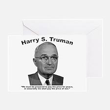 Truman: Price Greeting Card