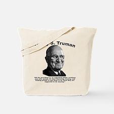Truman: President Tote Bag