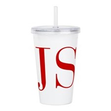 JS-bod red2 Acrylic Double-wall Tumbler