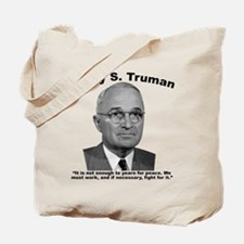 Truman: Peace Tote Bag