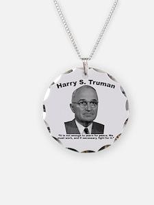 Truman: Peace Necklace