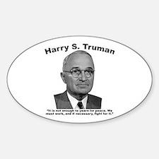 Truman: Peace Decal