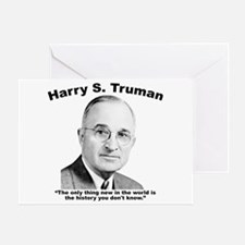 Truman: History Greeting Card