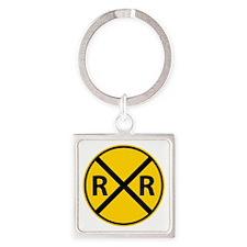 Railroad Crossing Keychains