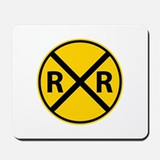 Railroad Crossing Mousepad